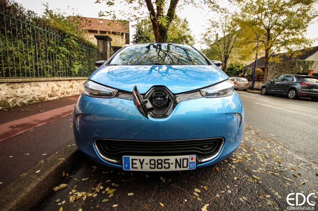 Renault Zoe testdrive