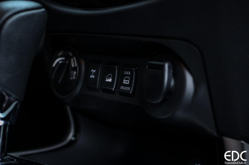 Nissan Navara transmission intégrale