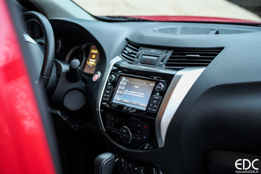 Nissan Navara écran tactile