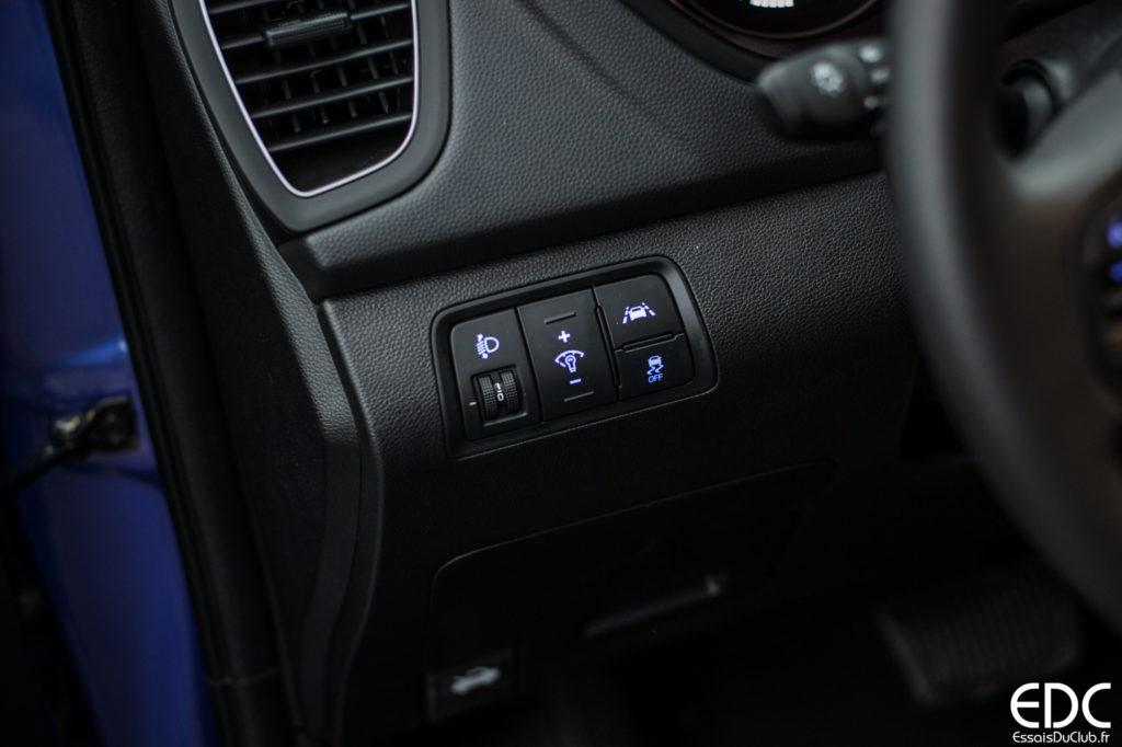 Hyundai i20 phares