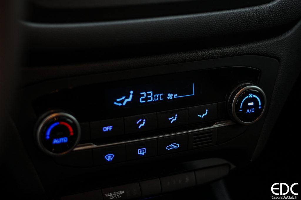 Hyundai i20 climatisation