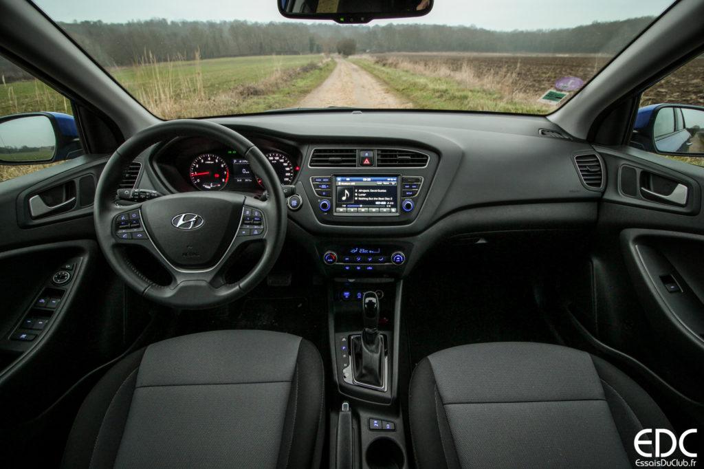 Hyundai i20 intérieur