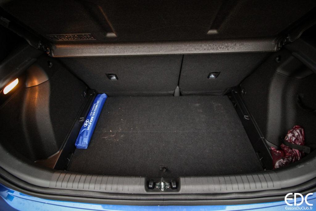 Hyundai i20 coffre