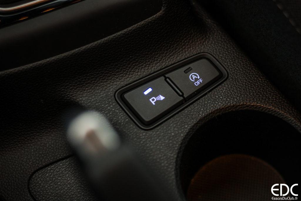 Hyundai i20 radar stationnement