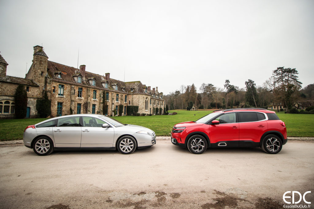Citroen C5 aircross vs C6