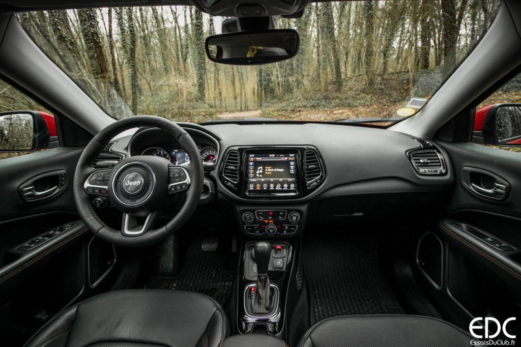 Jeep Compass intérieur