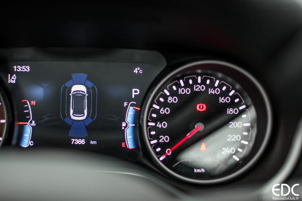 jeep compass équipement