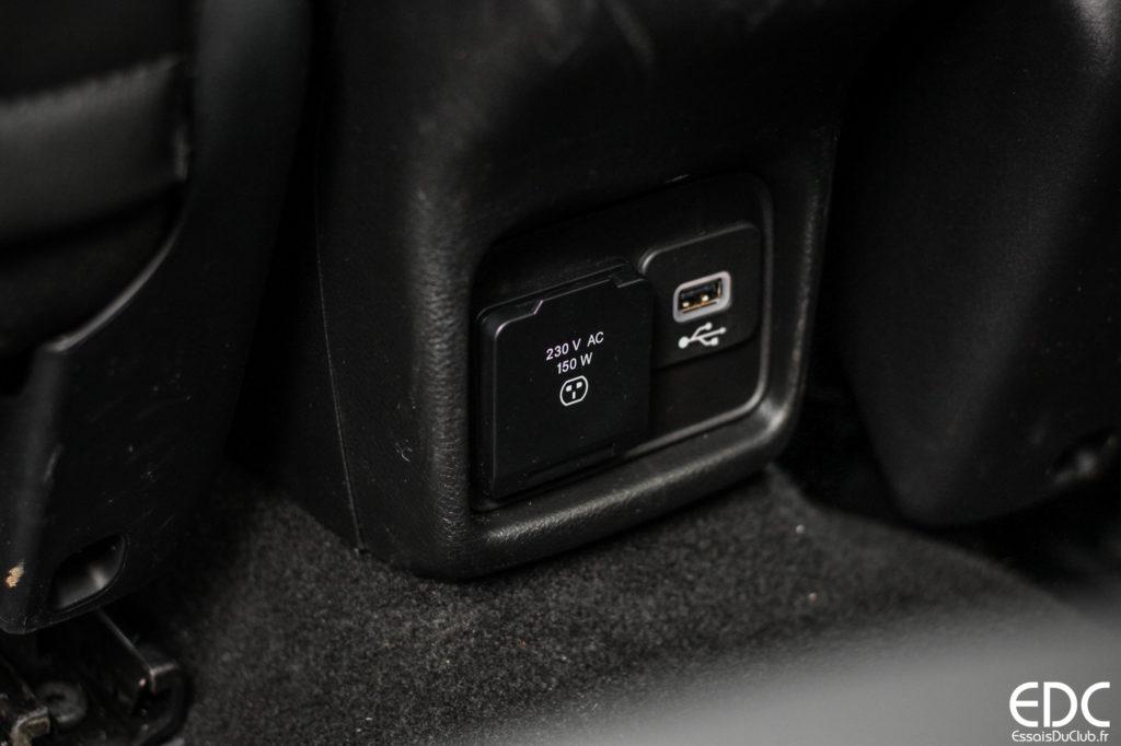 jeep compass prise 230V