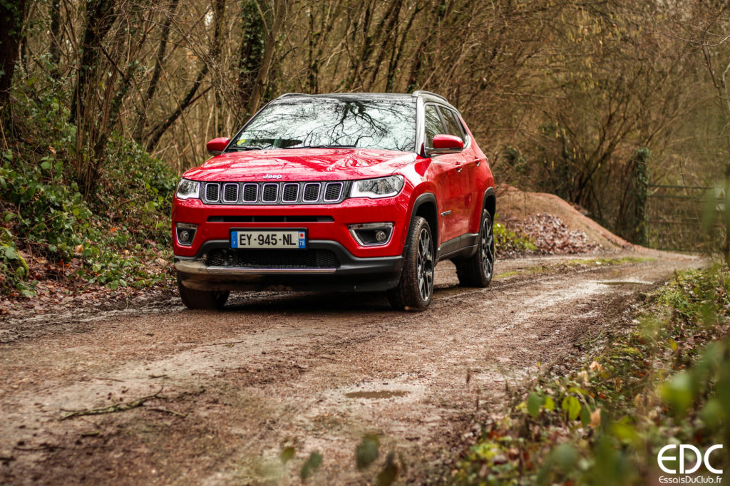 Jeep Compass offroad