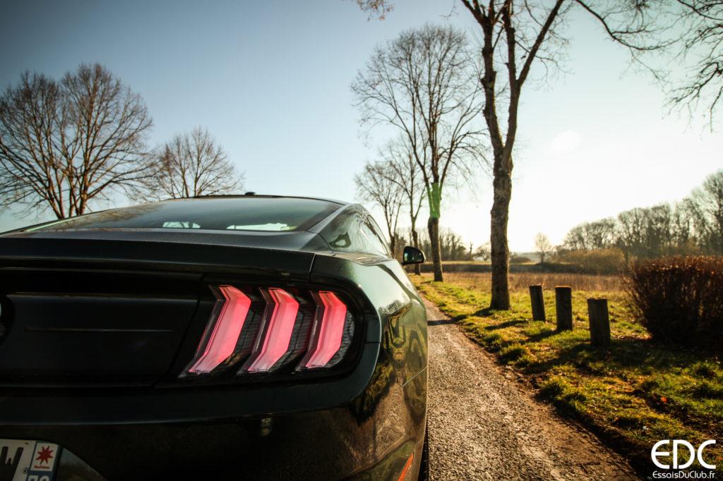 Ford Mustang Bullitt essai