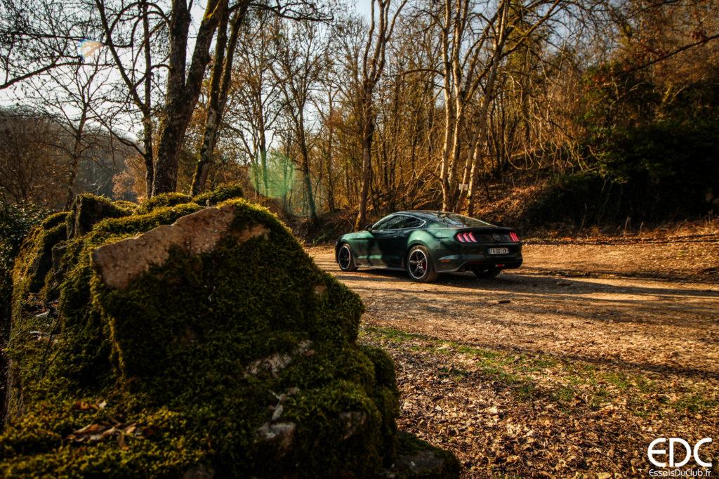 Ford Mustang Bullitt rear