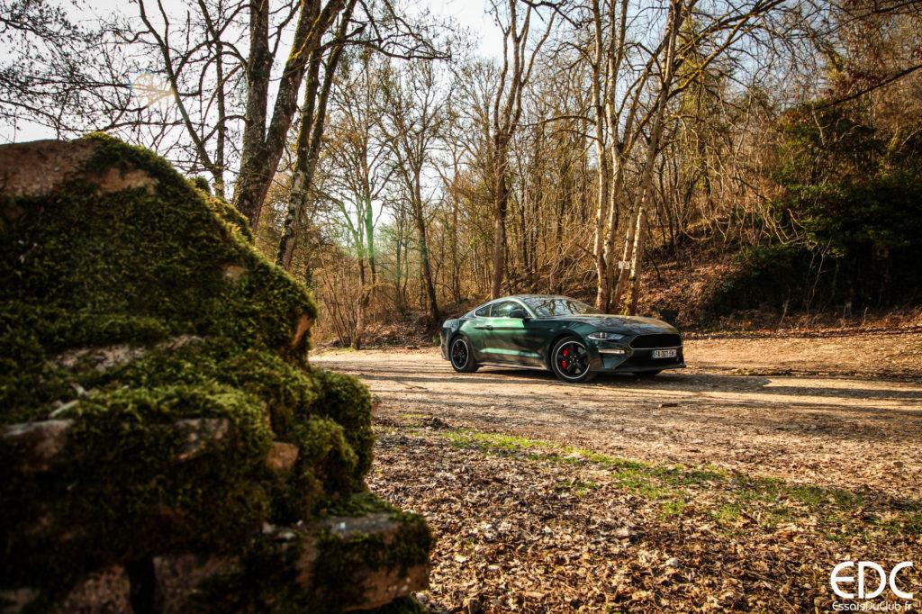 Ford Mustang Bullitt testdrive