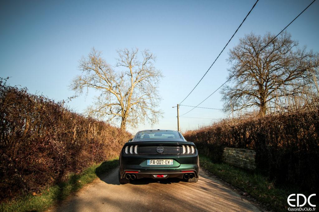 Ford Mustang Bullitt arrière