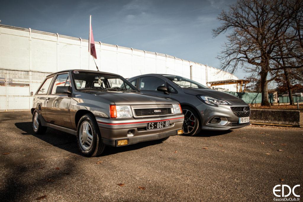 Comparo Opel Corsa GSi