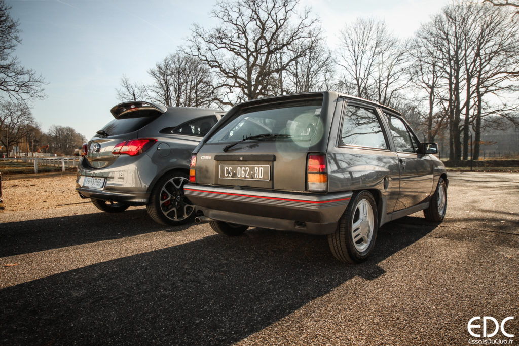 Comparatif Opel Corsa GSi