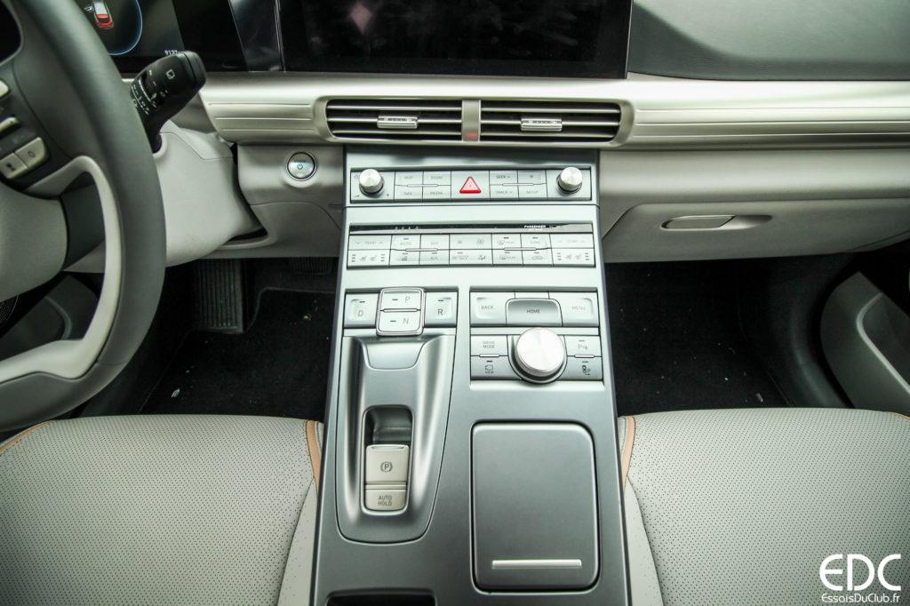 Hyundai Nexo console centrale