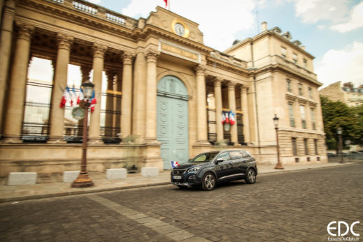 Peugeot 5008 assemblée nationale