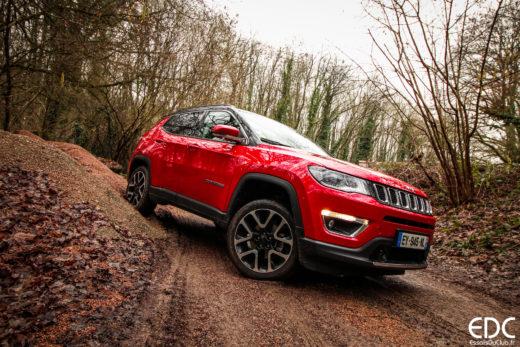 Essai jeep Compass